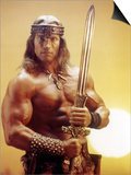 Conan the Destroyer by Richard Fleischer with Arnold Schwarzenegger, 1984 Affiches