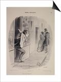 Moeurs conjugales: C'est ma femme!!! Affiches par Honore Daumier