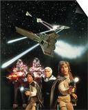Galactica, la bataille de l'espace Art