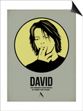 David 4 Print by Aron Stein