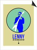 Lenny 2 Prints by David Brodsky