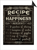 Life Recipes IV Prints by Jess Aiken