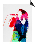 Lorde Watercolor Posters by Lora Feldman