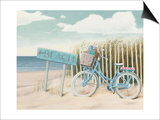 Beach Cruiser II Crop Posters by James Wiens
