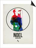 Noel Watercolor Prints by David Brodsky
