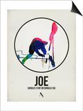 Joe Watercolor Posters par David Brodsky
