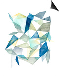Grace Popp - Geometric Jewel Abstract I Plakát