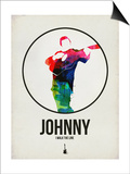 Johnny Watercolor Posters by David Brodsky