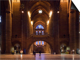 Liverpool Cathedral, Liverpool, Merseyside, England Poster by Green Light Collection