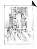 Art Deco Bridge Study I Posters by Ethan Harper