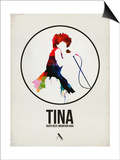 Tina Watercolor Posters par David Brodsky
