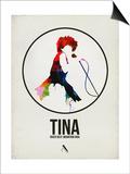 Tina Watercolor Poster von David Brodsky