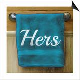 Her Towel Prints by Elizabeth Medley