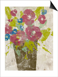 Bouquet Collage I Posters by Jennifer Goldberger