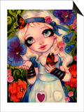 Alice and The Talking Garden Prints by Natasha Wescoat