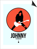 Johnny Circle 4 Poster by David Brodsky