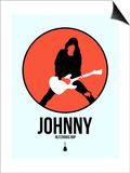 Johnny Circle 4 Poster by David Brodsky