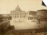 St. Peter's Square Art by Giacomo Brogi