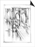 Art Deco Bridge Study II Prints by Ethan Harper
