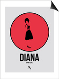 Diana Posters by David Brodsky