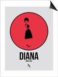 Diana Posters by David Brodsky