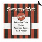 Italian Recipe I Poster af Andi Metz