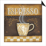 Espresso Posters by Kim Lewis