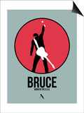 Bruce Posters by David Brodsky