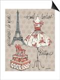 Fashion Week II Plakat af Anne Tavoletti