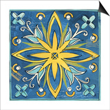 Tuscan Sun Tile I Color Prints by Anne Tavoletti