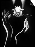 The Famous Diamond Louis Cartier Assured for $5 Million, New York, December 14, 1976 Poster