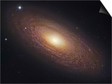 Ngc 2841, Spiral Galaxy in Ursa Major Posters