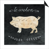 Le Cochon Cameo Sq Posters by Courtney Prahl