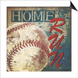 Home Run Posters by Jo Moulton