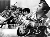 The Beach Boys (Dennis Wilson, Dave Marks, Carl Wilson, Brian Wilson and Mike Love) July 11, 1966 Posters