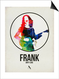 Frank Watercolor Posters by David Brodsky