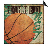 Nothin But Net Print by Jo Moulton