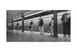 Manhattan Subway Station Panorama Photographic Print by Henri Silberman