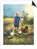 Country Chicks Posters by Vickie Wade