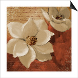 Midday Magnolias I Poster by Lanie Loreth