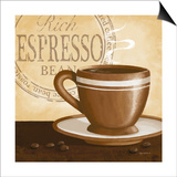 Rich Espresso Posters by Kathy Middlebrook