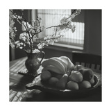 Flowers and Fruit Still Life Photographic Print by Henri Silberman