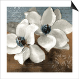 White Magnolias II Posters by Lanie Loreth
