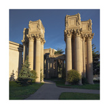 Palace of Fine Arts Columns Closeup Photographic Print by Henri Silberman