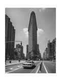 Flatiron Cab Photographic Print by Henri Silberman