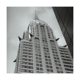 Chrysler Building Deco Birds Photographic Print by Henri Silberman