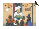 Halloween Chef Posters by Vickie Wade