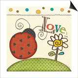 Love Bug Prints by Jo Moulton