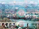 ville complexe Fotodruck von Laurent Grizon