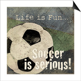 Soccer Posters by Jo Moulton